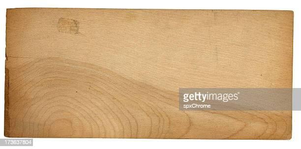 En bois lettre