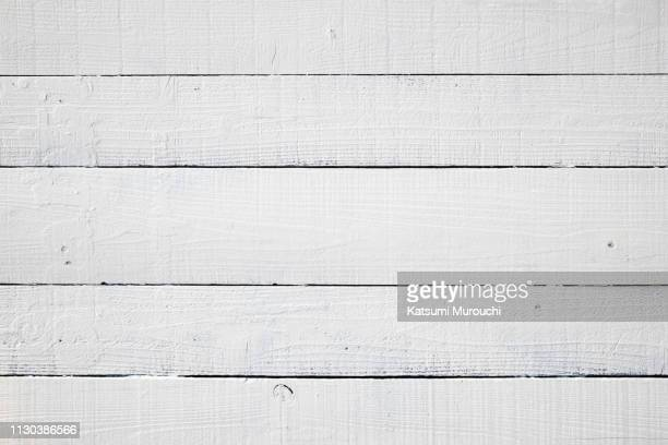 wood panel texture background - 白塗りの木材 ストックフォトと画像