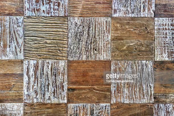 wood - vierkant tweedimensionale vorm stockfoto's en -beelden