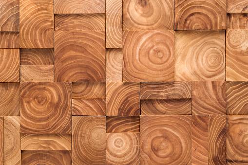 Wood Ring Pattern Blocks Collage - gettyimageskorea