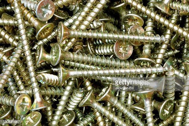 Wood screw, screws