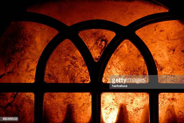 wood stove inferno - hell stock pictures, royalty-free photos & images