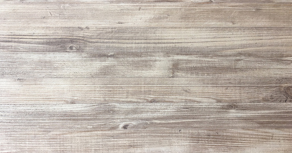 wood texture background, light oak of weathered distressed rustic wooden with faded varnish paint showing woodgrain texture. hardwood planks pattern table top view. 953010970