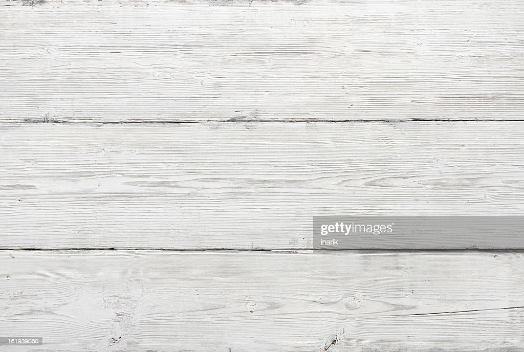 Wood Texture, White Wooden Background, Vintage Grey Timber Plank Wall :  Stock Photo