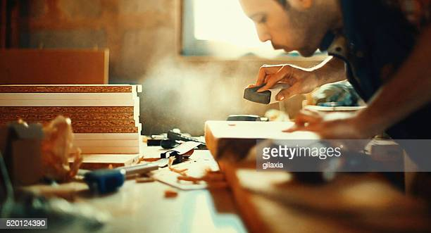 wood working. - craftsman stock photos and pictures