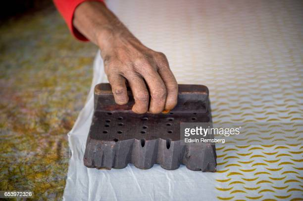 woodblock printing - printed sleeve stock pictures, royalty-free photos & images