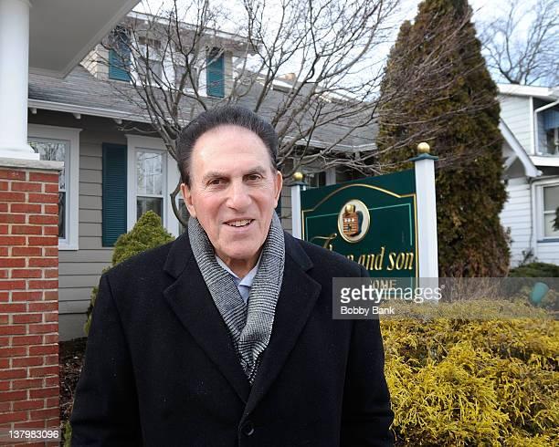 Woodbridge Township Mayor Thomas Paterniti outside of the Wake for actor, Robert Hegyes on January 29, 2012 in Woodbridge, New Jersey.