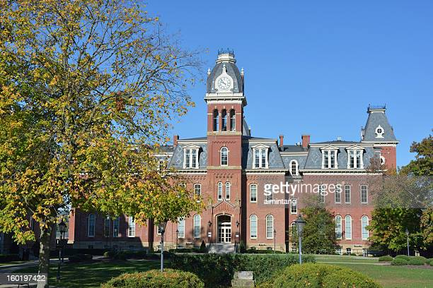 woodburn hall in west virginia university - protohistory_of_west_virginia stock pictures, royalty-free photos & images