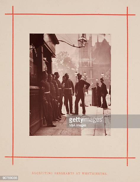 UNITED KINGDOM NOVEMBER 17 Woodburytype taken from 'Street Life in London' written by Adolphe Smith with photography by the Scottish photographer...