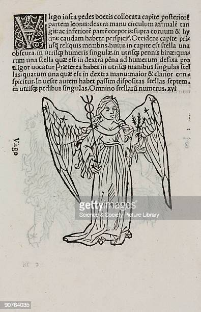 Woodcut from �Poetica astronomica� published in Venice in 1488 This work has been attributed to Hyginus who was born in Spain in about 60 BC It was...