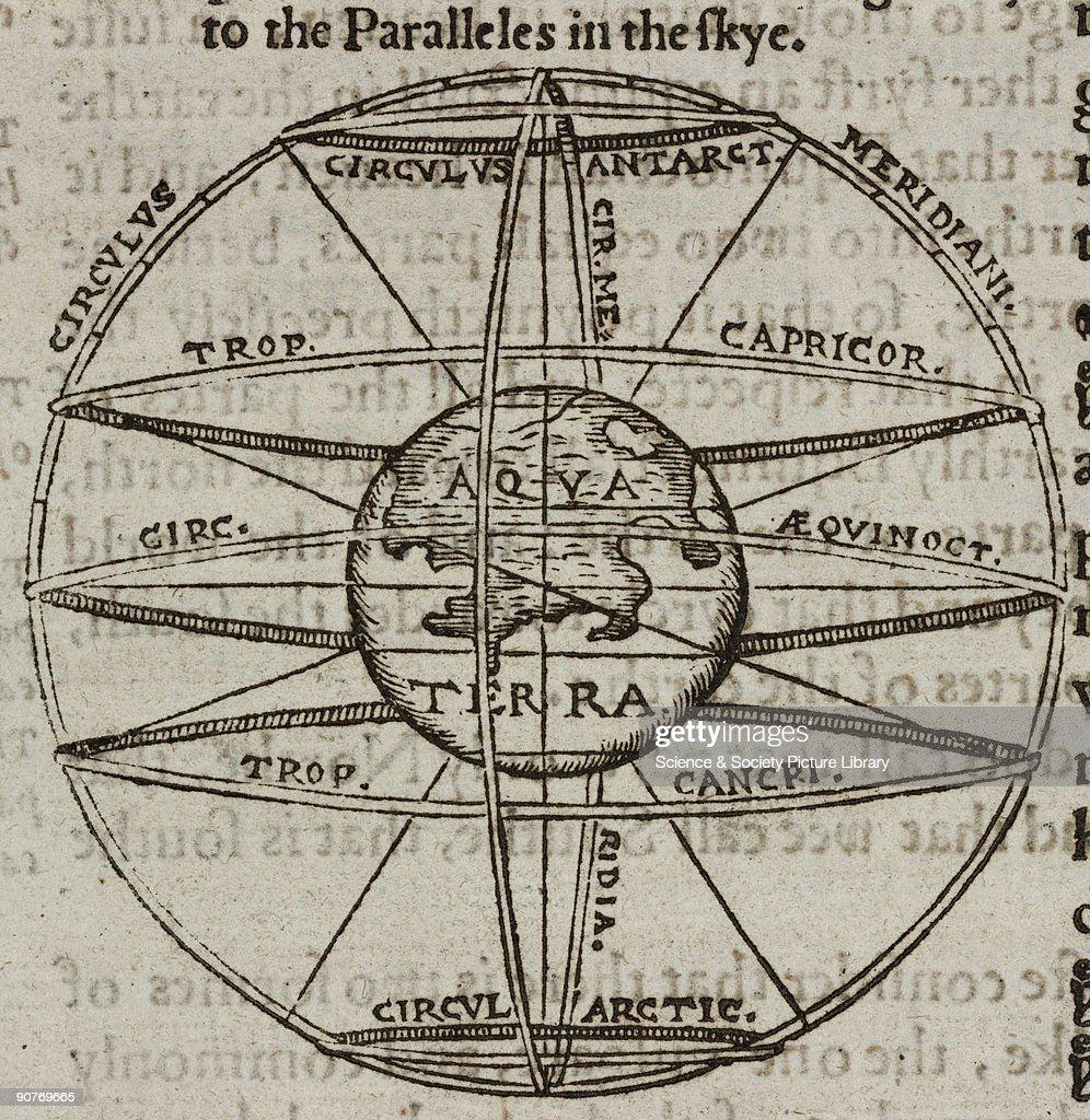 The Tropics on the Earth, 1556. : News Photo