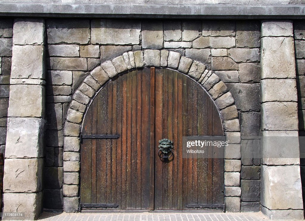 Medieval Door Wall Art. Photo ID 172923174 & Medieval door | Photos.com