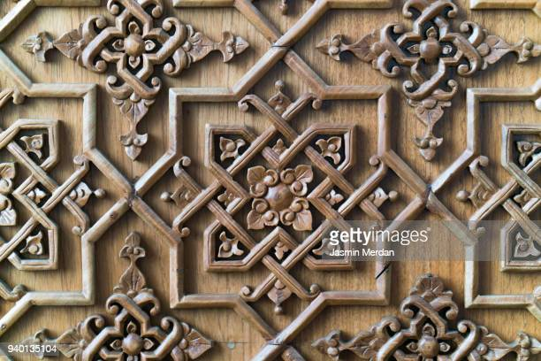 wooden art background - ottoman empire stock pictures, royalty-free photos & images