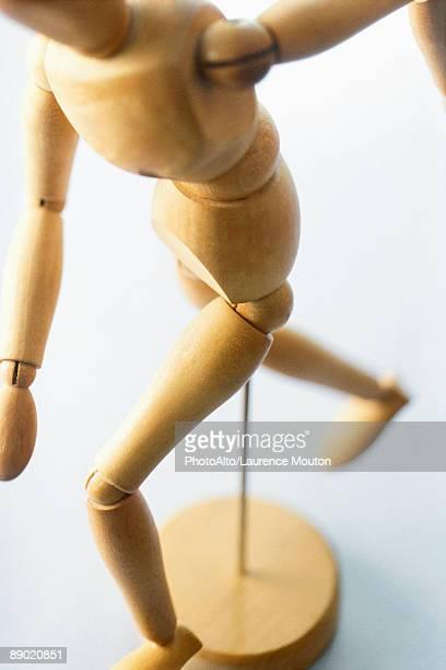 Wooden artist's dummy