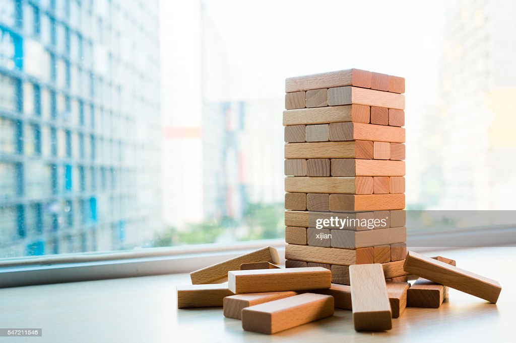 wooden block : Stock Photo