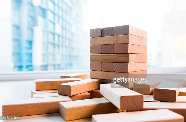 wooden block