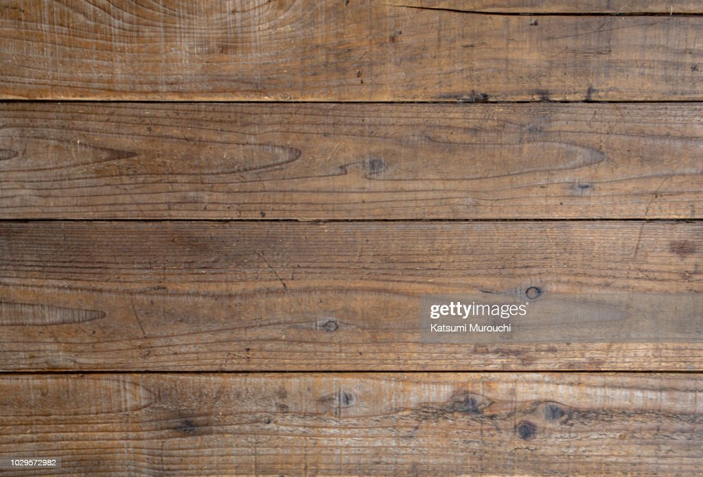 Wooden board texture background : Stock Photo