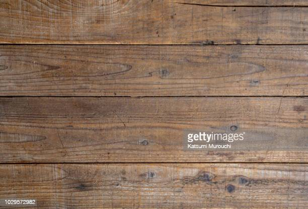 wooden board texture background - table - fotografias e filmes do acervo
