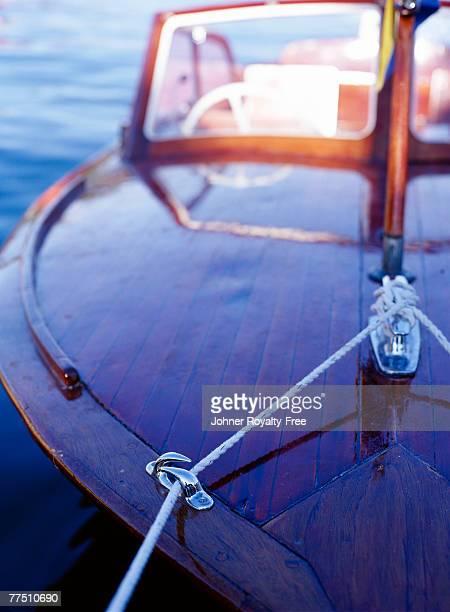 A wooden boat Sweden..
