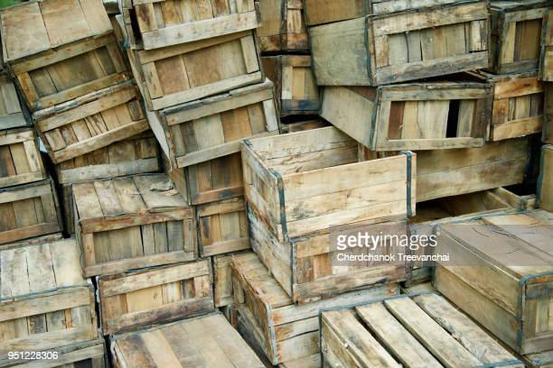 wooden box folder, wooden package - crate stock pictures, royalty-free photos & images