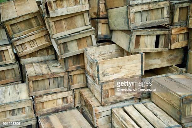 Wooden box folder, wooden package