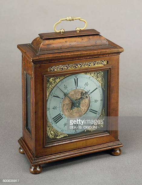 Wooden bracket clock Italy 17th century