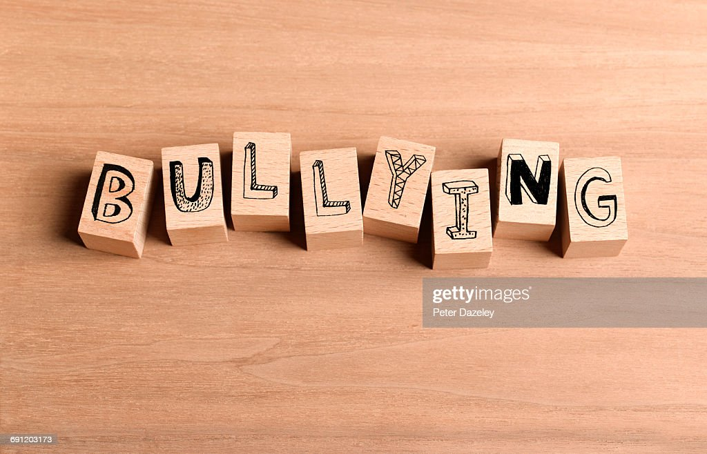 Wooden Bricks Spelling Out Word Bullying Stock Photo - Getty