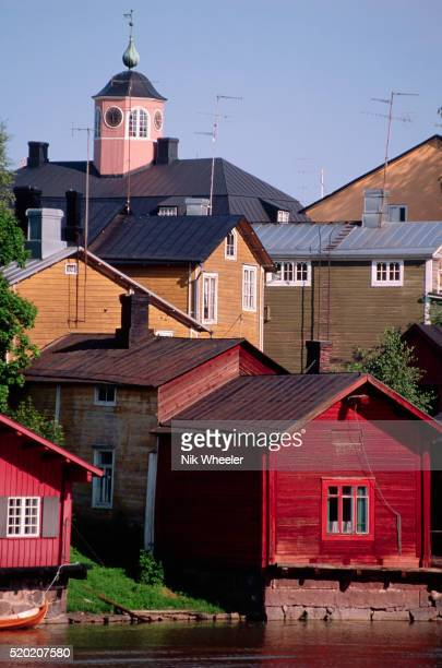 Wooden Buildings in Porvoo