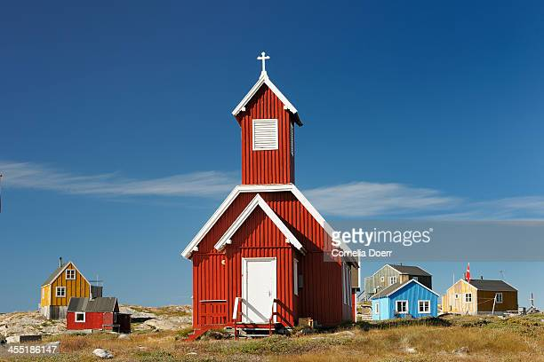 Wooden church in Ilulissat