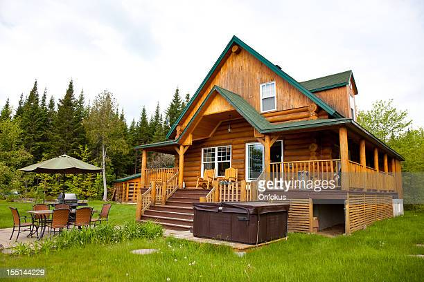 Wooden Cottage, Log Home, Log Cabin
