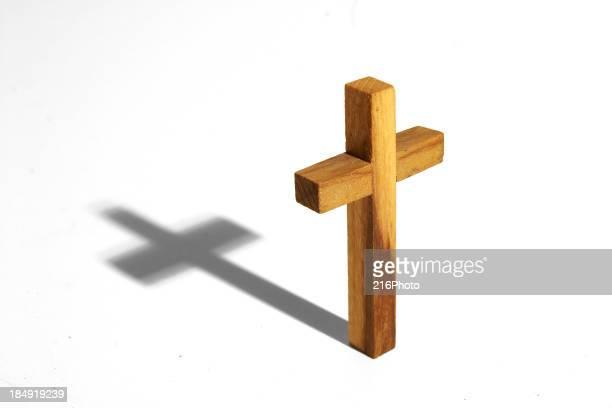 クリッピングパスと木製のクロス