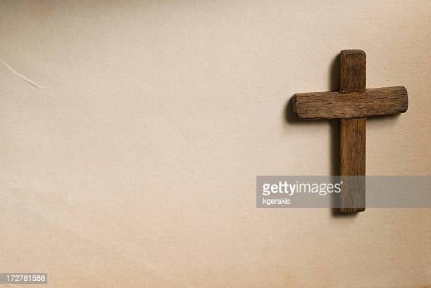 木製のクロス