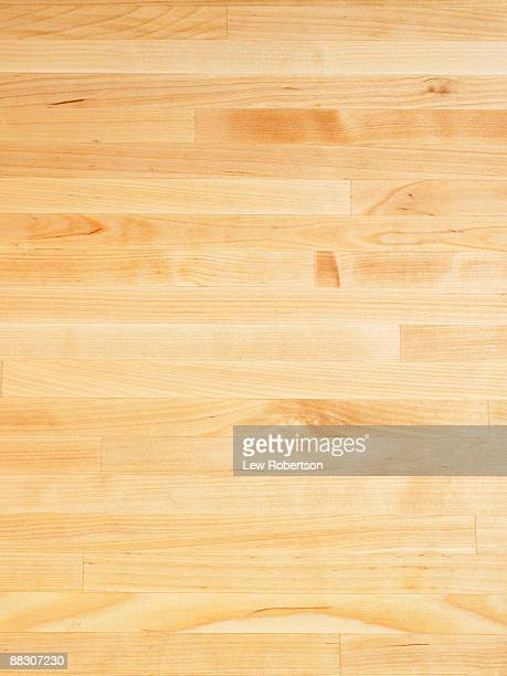 Wooden cutting board surface
