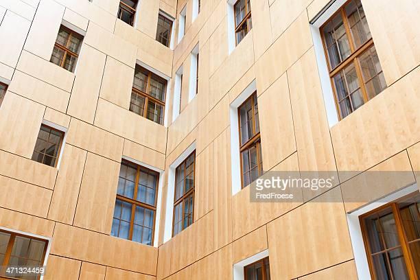Hölzerne Fassade