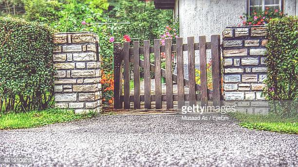 Wooden Fence Outdoors