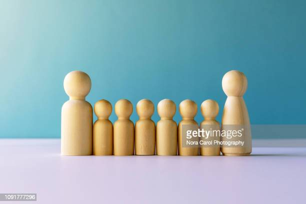 wooden figurine - symbol stock pictures, royalty-free photos & images