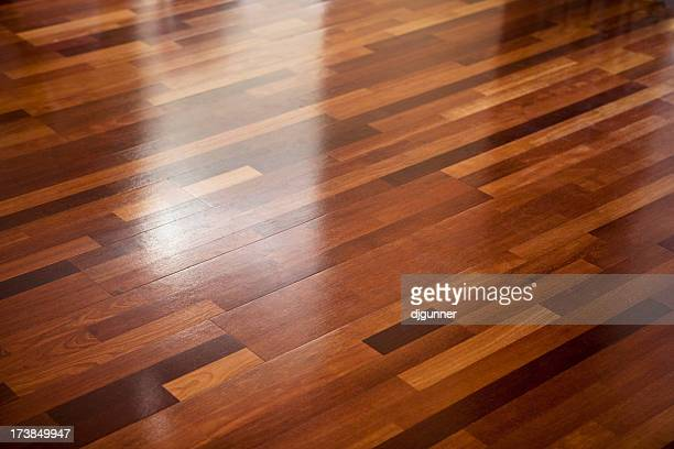 wooden floor - wooden floor stock pictures, royalty-free photos & images