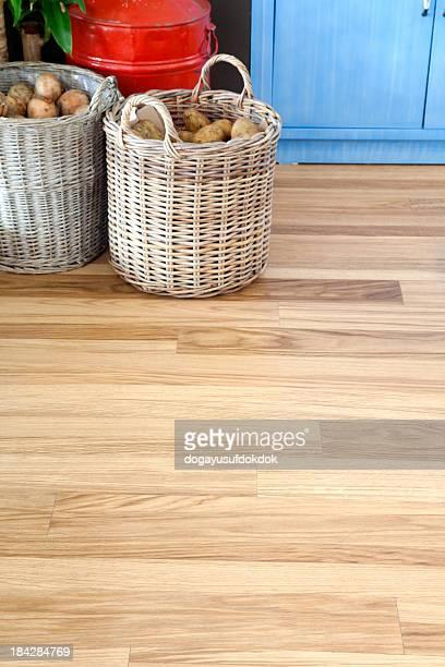 木製のフロア