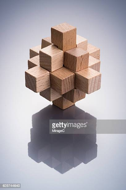 Wooden Geometric Puzzle Toy