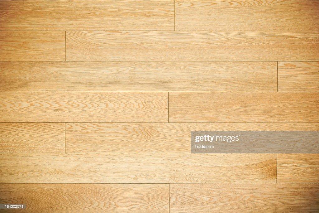 Wooden hardwood floorboard textured background : Stock Photo