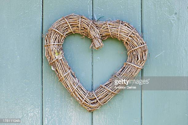 wooden heart - andrew dernie stock pictures, royalty-free photos & images