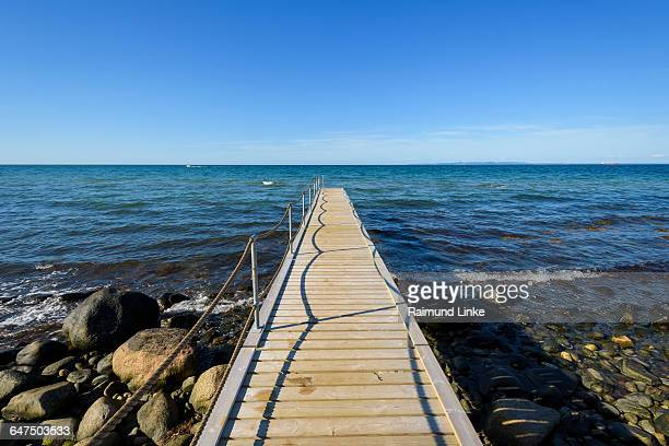 Wooden Jetty on Beach