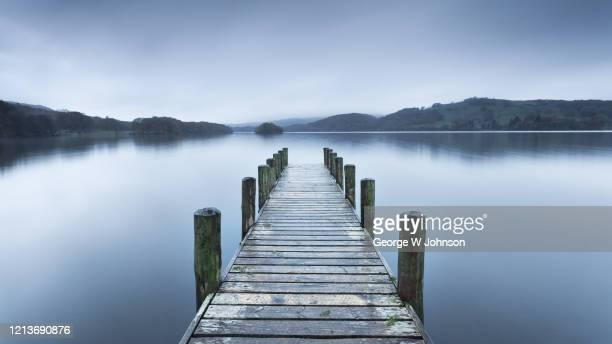 wooden jetty - pier stock pictures, royalty-free photos & images