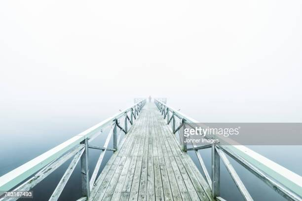wooden jetty - eternity stock pictures, royalty-free photos & images