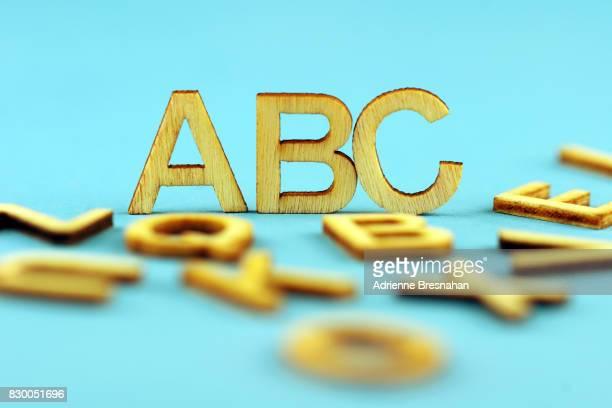 Wooden Letters, 'ABC'