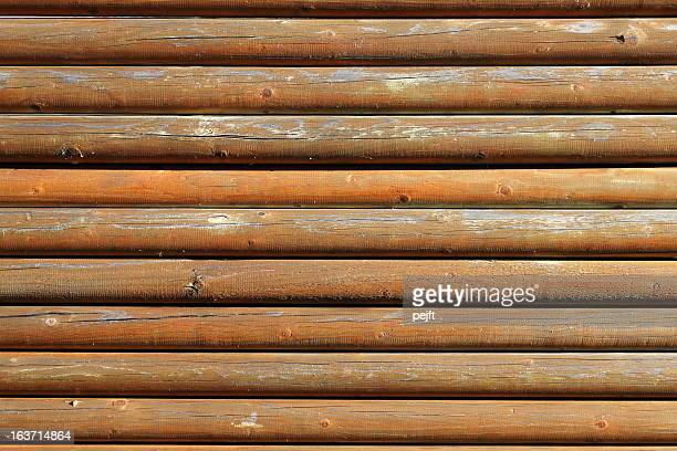 wooden logs fence - pejft stock pictures, royalty-free photos & images