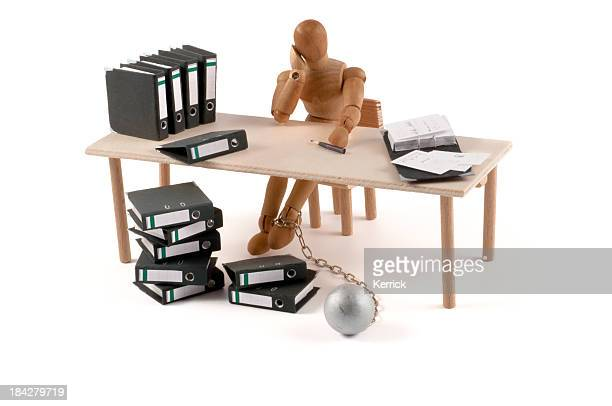 wooden mannequin monday morning - employment law stock photos and pictures