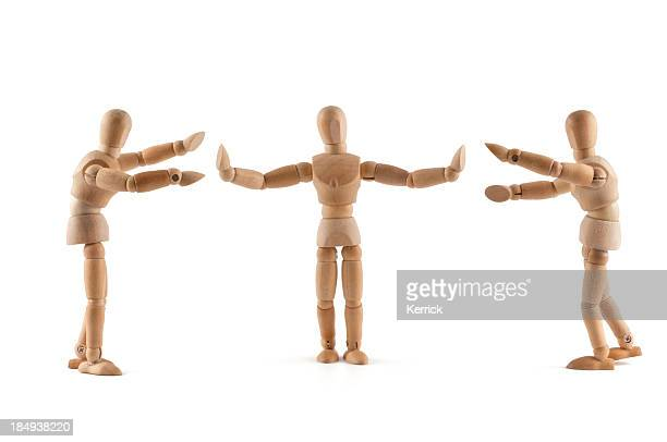 Wooden Mannequins need Mediation
