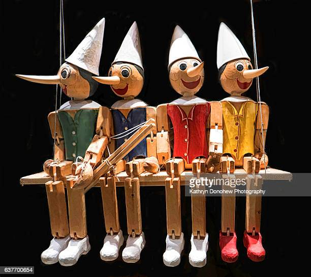 Wooden Marionettes/puppets in Venice Italy