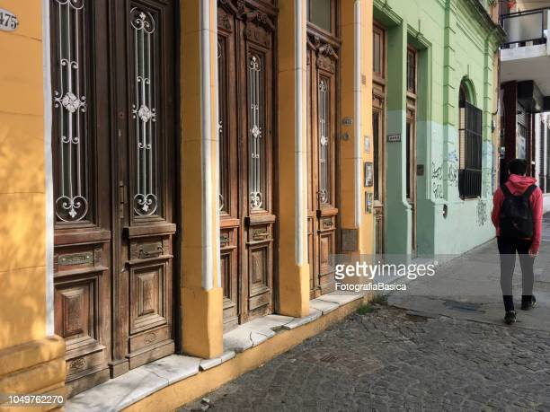Wooden old doors, Buenos Aires, Argentina